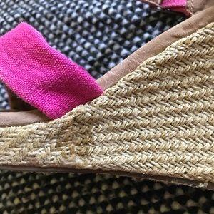 Toms Shoes - TOMS sandal wedges size women's 8